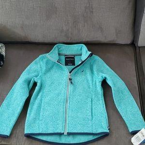 Girls nautica sweater jacket 2687